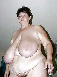 Young Old Bbw  Big Saggy Tits