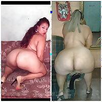 BBW mom big ass rico pack de abuela y su hija madura culona