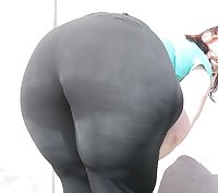 Big Fat Round Bubble Stocky Meaty Ass Butt Booty Donk