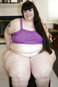 BBW chubby supersize big tits huge ass women 1