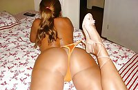 Beautyful Butt Sluts in Lingerie, Fishnets and High Heels