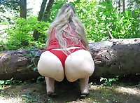 BIG Round & FAT Asses Outdoors! #2