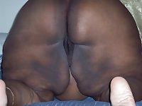 BBW MATURE BLACK WOMAN WITH BIG ASS & BIG BOOBS
