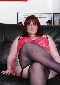 BBW Mature femdom pvc latex leather strapon 20