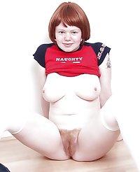 REDHEADS - bbw skinny teen mature big small tits pussy 4