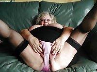 granny mature panty