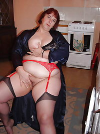 Mature BBWs in stockings 22